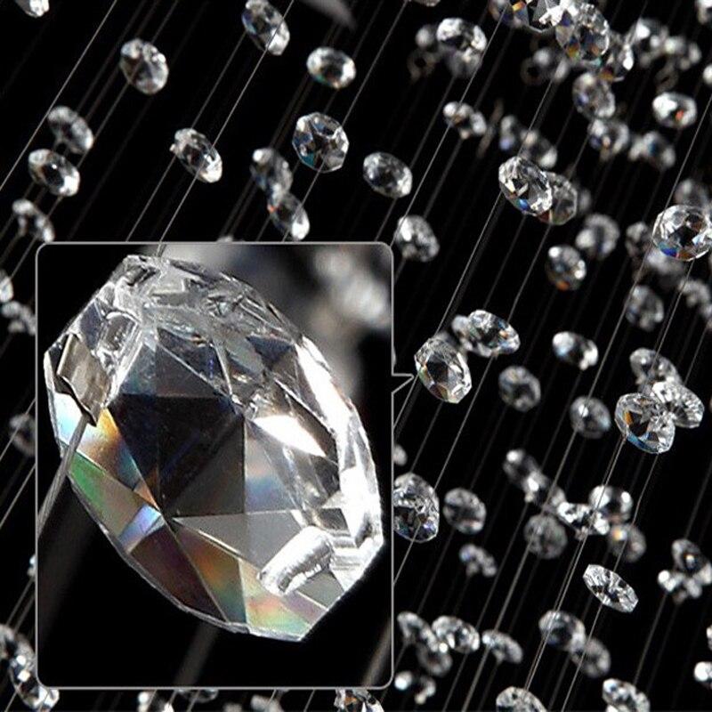 Aliexpress J Bester Preis Moderne Deckenleuchten Led Kreis Lampe K9 Kristall Wohnzimmer Lichter Helle Droplight Mode Kronleuchter Von