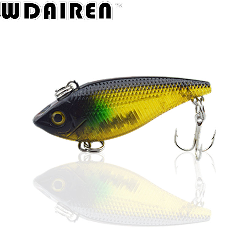 1Pcs 5cm 6g Winter VIB Fishing Lure Hard Bait with Lead Inside Ice Sea Fishing Tackle Fly crank  Wobbler Lure NE-310 wldslure 1pc 54g minnow sea fishing crankbait bass hard bait tuna lures wobbler trolling lure treble hook
