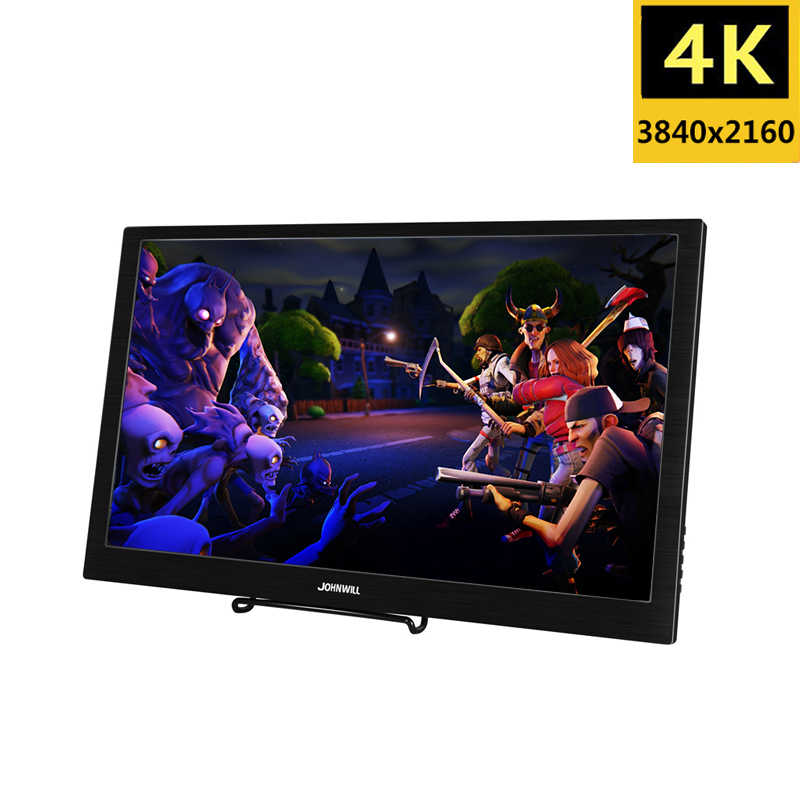 "18.4 polegada completa hd 3840x2160 4 k ips portátil tela de jogo monitor pc para ps3 ps4 macbook 13.3 ""USB-C pequeno mini computador monitor"