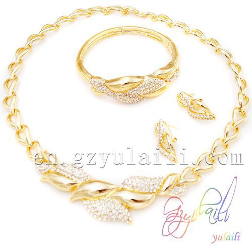 SHIPPING FREE imitation jewellery in dubai 18K gold plated jewelry