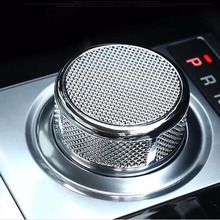 hot deal buy gear head shift knob decorative cover trim sticker for land range rover discovery sport 5 lr5 evoque vogue interior accessories