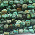 "Discount Wholesale Natural Genuine Blue Africa Turquoise Nugget Loose Beads Free Form Beads 5-12mm Fit Jewelry 15"" 03911"