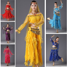 Belly Dance Costumes Egypt Stage Performance Dancing Indian