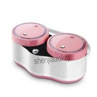 Автоматический 2L * 2 двойной желчи назначение multi function горшок два горшка электрическая посуда бытовая Смарт Мини рисоварка 220 В 700 Вт