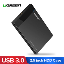 Ugreen HDD Case 2.5 inch SATA to USB 3.0 SSD Adapter for SSD 1TB 2TB Type C Hard Disk Drive Box External HDD Enclosure(China)