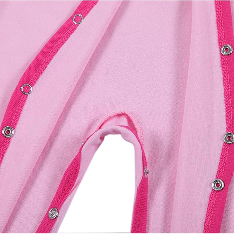 100% pamut bébi test 3db / lot őszi újszülött pamut test baba - Bébi ruházat - Fénykép 5