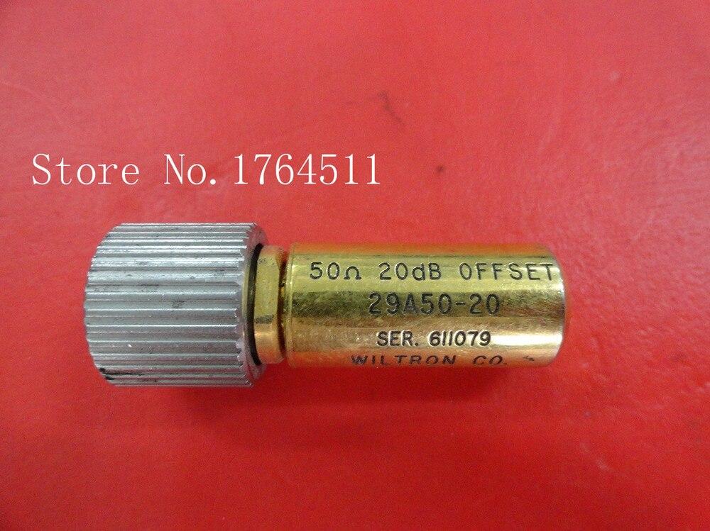 [BELLA] Wiltron 29A50-20 20dB RG6U precision load Offset DC-18GHz GPC-7[BELLA] Wiltron 29A50-20 20dB RG6U precision load Offset DC-18GHz GPC-7