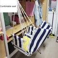 Подушка для взрослых  кресло-качалка  одиночный безопасный гамак  скандинавский стиль  белый гамак для дома  сада  общежития  Подушка для спа...