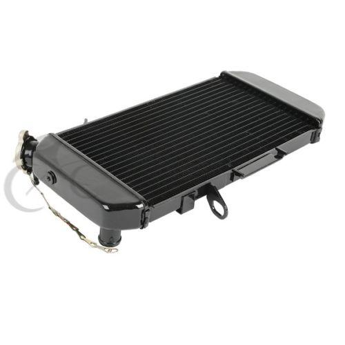 цена на Motorcycle Aluminum Radiator Water Cooler For SUZUKI DL650 DL 650 V-Strom Black