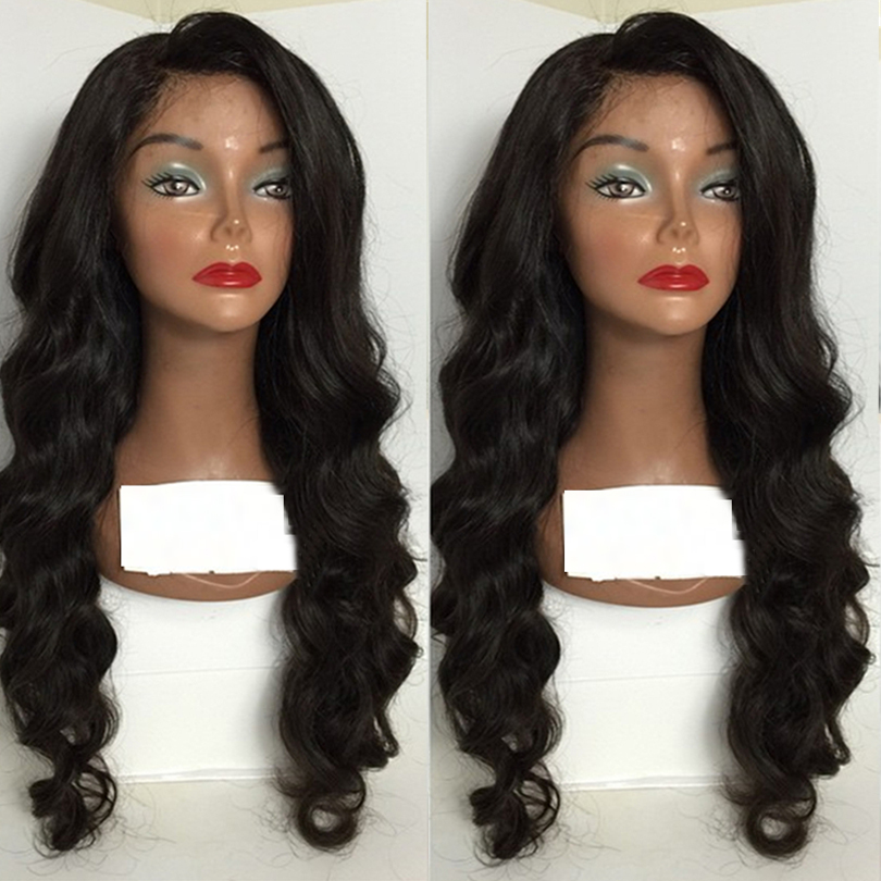 150 Glueless Full Lace Wig Malaysian Deep Body Wave Full