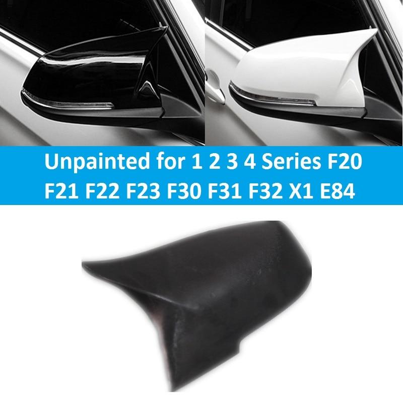 Неокрашенные зеркало заднего вида боковое зеркало Крышка замена Автомобильные Аксессуары для BMW серии 1 2 3 4 клавиши f21 Ф23 Ф20 Ф22 Ф30 Ф31 f32 из Х1 E84