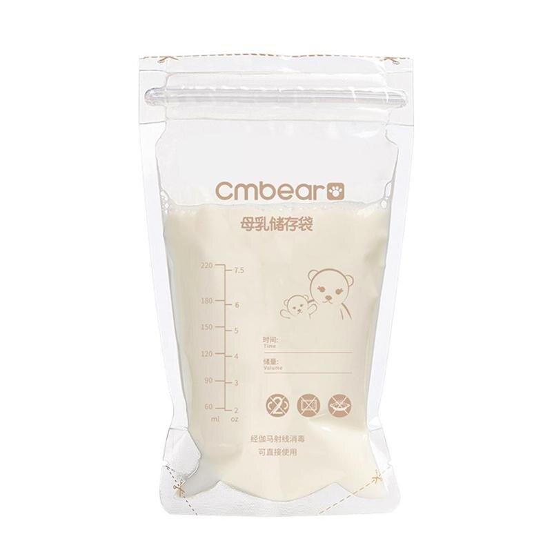 10 Вт, 30 Вт, 50 шт 220 мл контейнеры для хранения грудного молока одноразовые детские Еда свежий герметичный мешок удобство безопасное вспомогательное устройство для кормления контейнер для хранения сумка