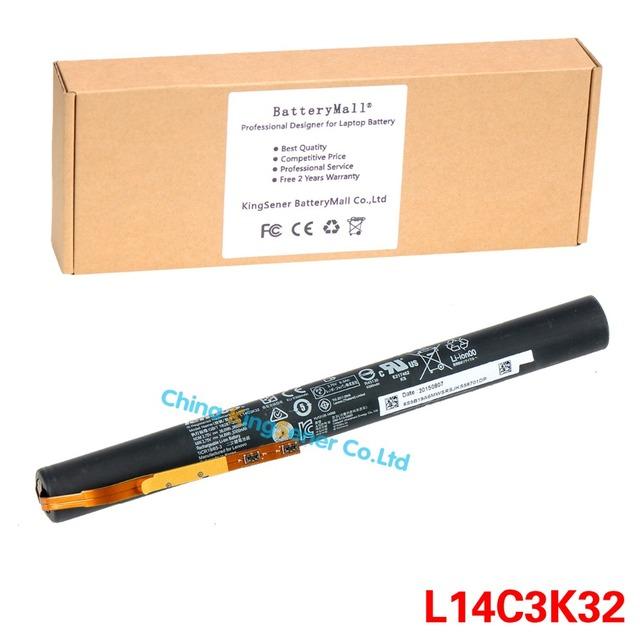 3.75 v 9600 mah original nuevo l14c3k32 batería del ordenador portátil para lenovo yoga tablet 2 yt2-1050f yt2-1051f l14d3k31 l14d2k31 batteria