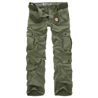 Hot Sale Free Shipping Men Cargo Pants Camouflage Outdoors Trousers Military Pants For Man 7 Colors