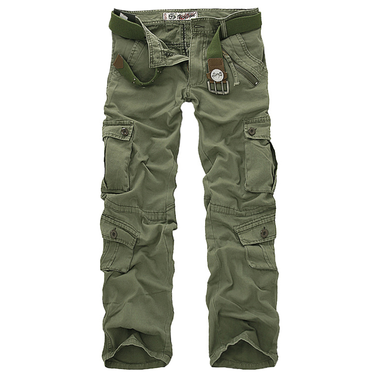 Private Label Pantal/ón Cargo de Combate para Mujer Turquesa New-Armygreen XX-Large