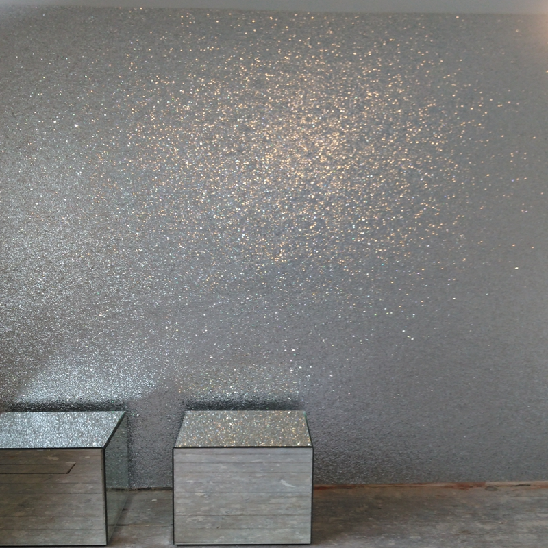 5m One Roll 138cm Width Silver Glitter Fabric Wallpaper Rolls Funky Wallpaper And Home Wallpaper Design