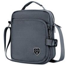 Купить с кэшбэком New Style Men's Casual Shoulder Bag Large Capacity Waterproof Nylon Hand Sling Bag Unique Design Crossbody Bag Male travel Bags
