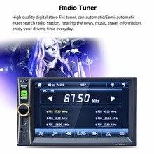 2 DIN 1080 P автомобилей в тире Мультимедиа Видео bluetooth стерео MP5 fm Радио аудио плеер с рулевого колеса Управление Функция
