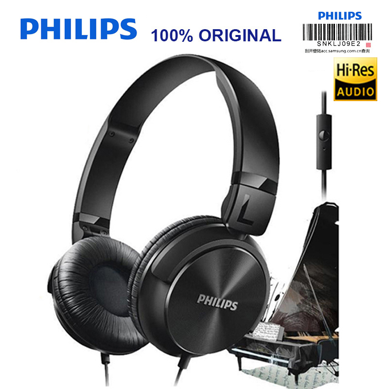 Philips SHL3065 Headphone with Noise Reduction Wire Control Microphone Headband Design for Galaxy 8 8 Official