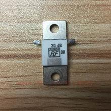 Фланец аттенюатора 150 Вт 20дБ 50 Ом RF разъём микроволновый резистор высокой мощности манекен нагрузки 150 Вт 50 Ом