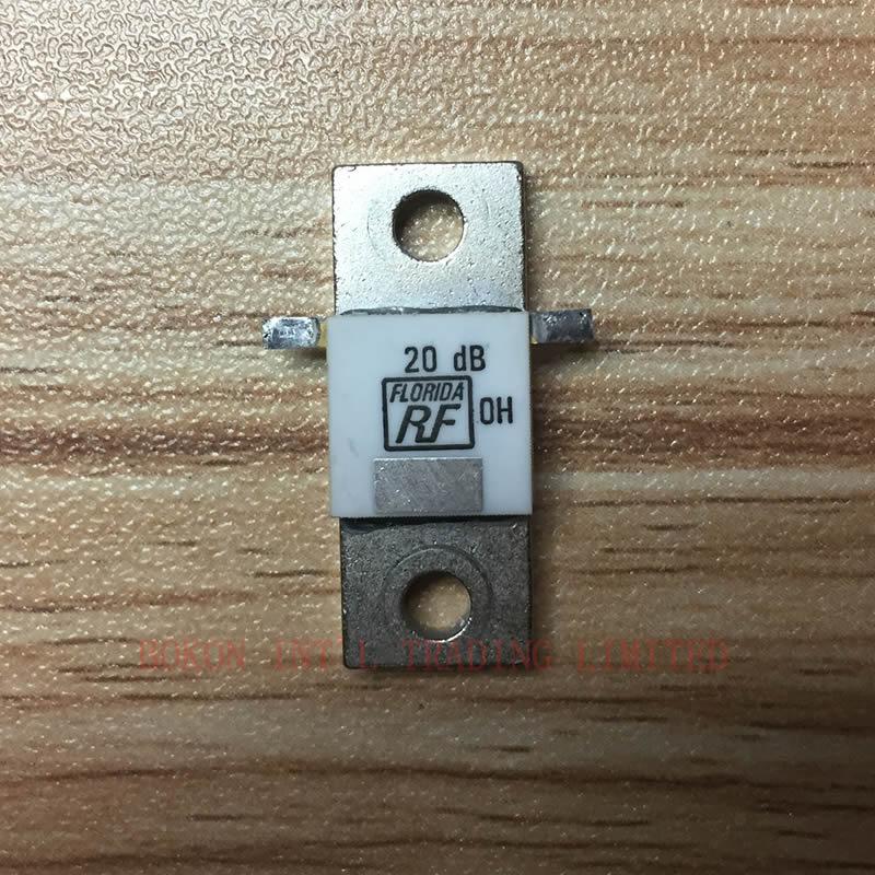 ATTENUATOR FLANGE 150W 20dB 50 Ohms RF Termination Microwave Resistor  High Power Dummy Load 150WATT 50OHM