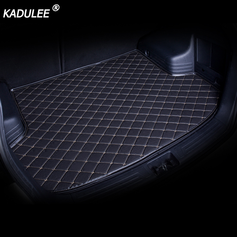 KADULEE car trunk mats for Ssangyong All Models Rodius ActYon kyron Rexton Korando auto accessories car styling trunk mats image