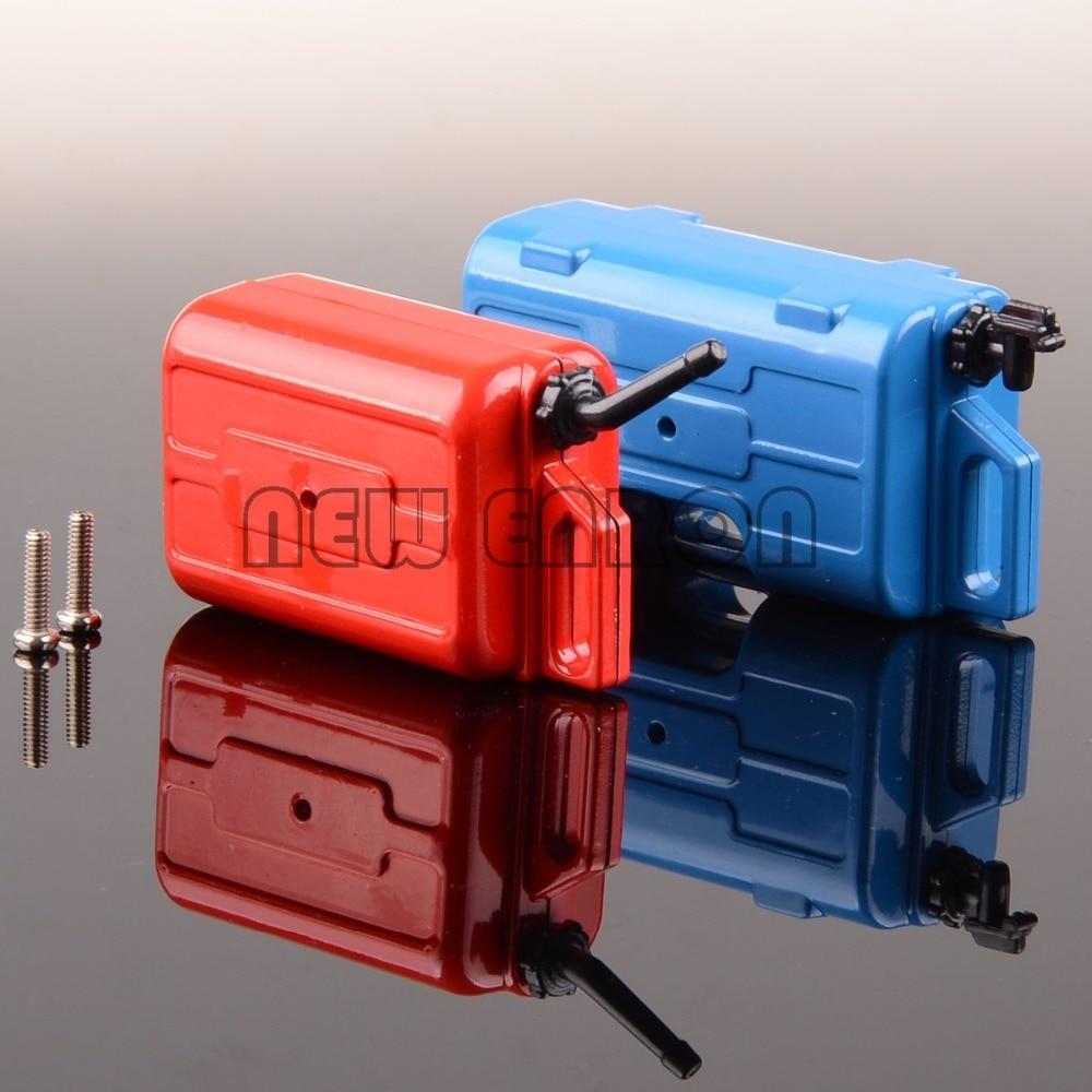 Rifle Mortar Gun + Fuel Tank + Fire Extinguisher Shovel Set 1/10 RC Car Accessory Fit For Axial SCX10 D90 Wraith TRX-4 CC01