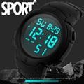SYNOKE Fashion Waterproof Men's Boy Watch LCD Digital Stopwatch Date Rubber Band Military Army Sport Wrist Watches Reloj Hombre