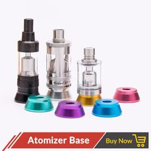 Quartz Banger 3pcs/lot eletronic cigarette accessories 510 holder atomizer Stand Base For Kayfun V5/Taifun GT3 Mini /Doggy Tank(China)