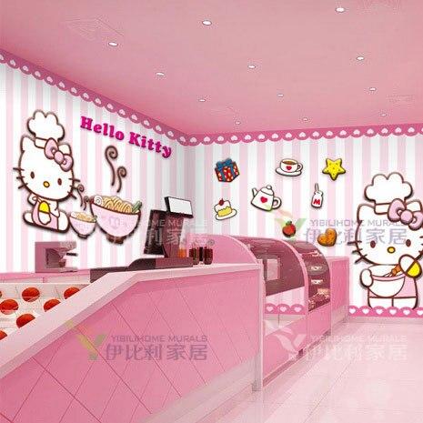Free Shipping Ktv Large Mural Wallpaper Tv Backdrop Bedroom