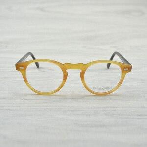 Image 4 - Chashma Vintage Optik Gözlük Çerçevesi Asetat OV5186 Gözlük Oliver okuma gözlüğü Kadınlar ve Erkekler Gözlük Çerçeveleri