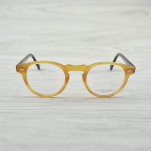 Image 4 - チャシュマヴィンテージ光学ガラスフレームアセテート OV5186 眼鏡オリバー老眼鏡女性と男性の眼鏡フレーム