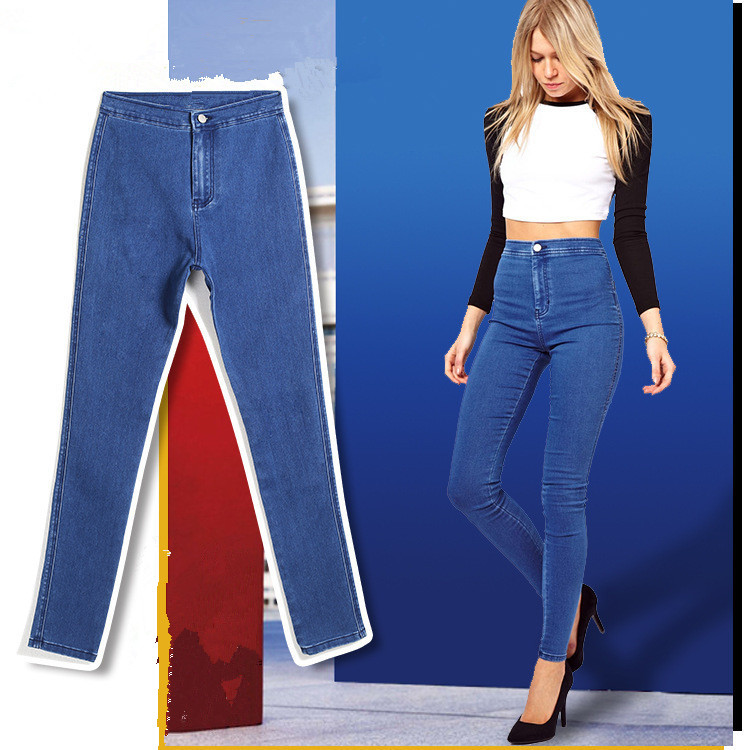 Popular Women High Waisted Jeans on Sale-Buy Cheap Women High ...