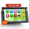 """Erisin ES7648V 7 """"Carro DVD GPS câmera Livre"""