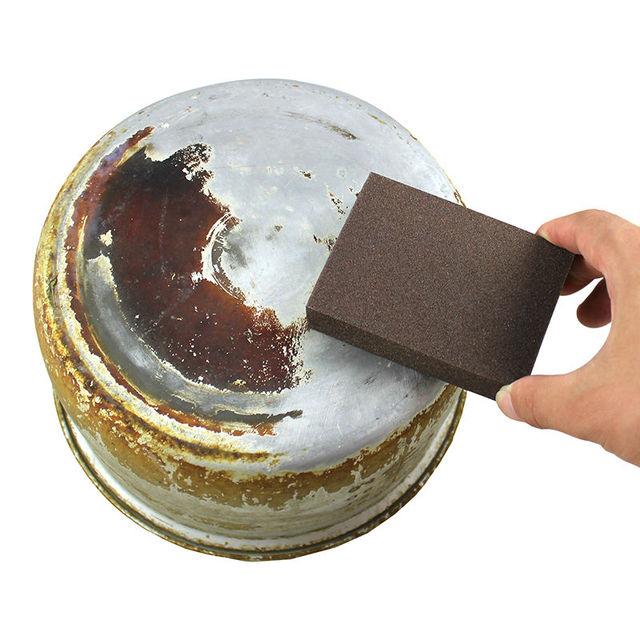 10pcs/lot Emery Nano Sponge Magic Eraser Cleaning cotton Kitchen Clean Supplies Rub pot Except rust Melamine Sponge 10*7*2.5cm