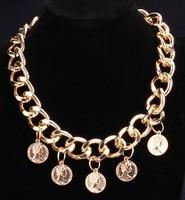 Photo Frame Memory Locket Pendant Necklace Gold Color Romantic Love Heart Vintage Rose Flower Jewelry Women