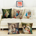 Christian Style God Jesus Cushion Cover Sailing for Sofa Home Decorative Throw Pillow Cover gift Religious
