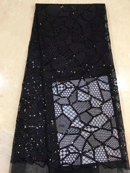 African Laces Fabrics Embroidered High Quality French Lace Fabric  Nigerian Net Tulle Lace Fabric  DPMA191