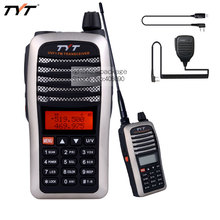 TYT TH-UVF1 Walkie Talkie Tri-Band RX 136-174/350-390/400-520MHz /400-470MHz 5W Tri-Color Backlight Ham Transceiver+Mic +Cable