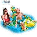 Tipo camaleão Crianças Água Flutuante Assento Flutuador Inflável Natação Grosso Almofada Crianças Brinquedo Material de PVC