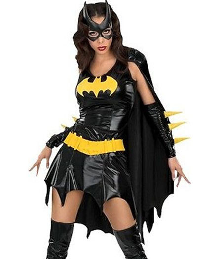 Sexy bat woman costume
