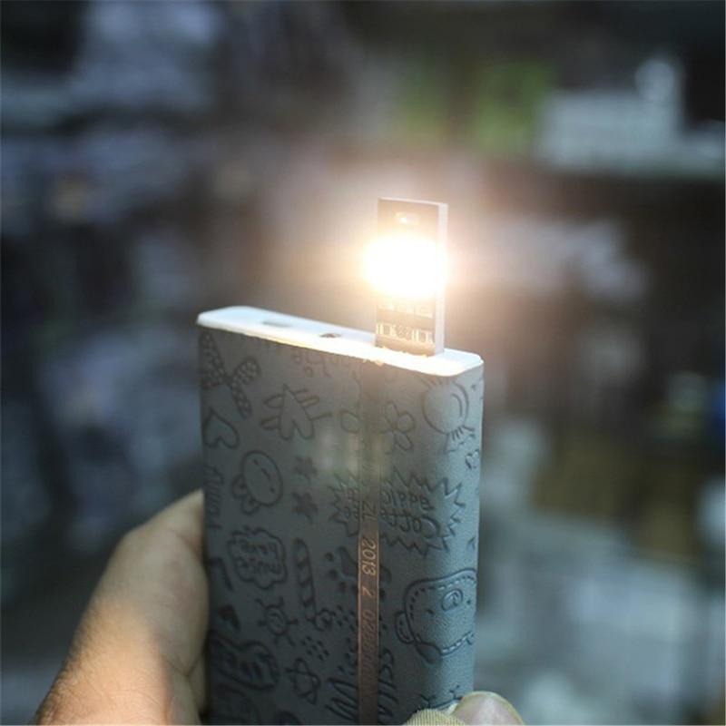Sales Mini USB Power 6-LED Night Light 1W 5V LED Touch Dimmer Warm Light P25