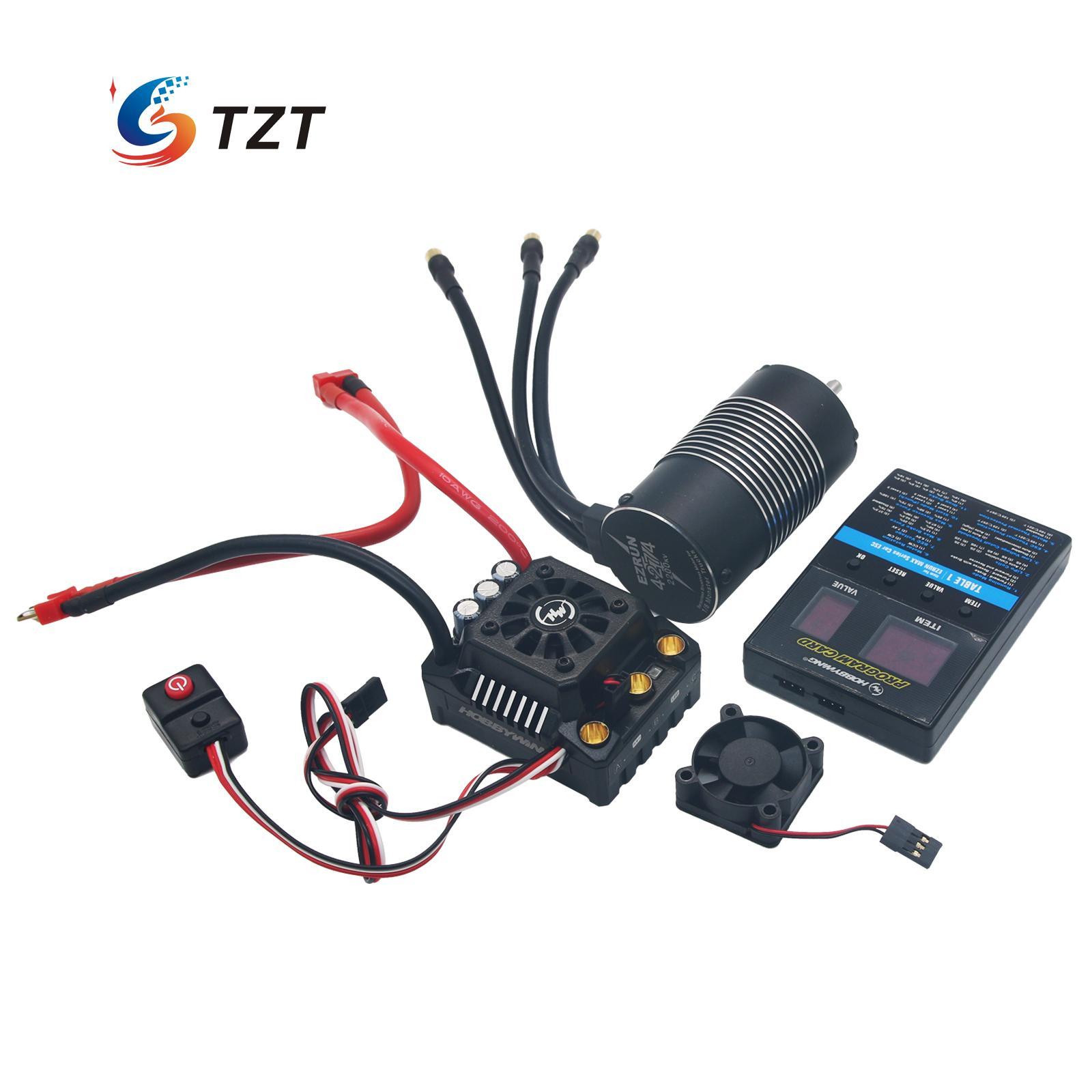 Hobbywing EzRun Max8 V3 150A Brushless ESC TRX Plug with Motor 4274 2200KV Program Card for