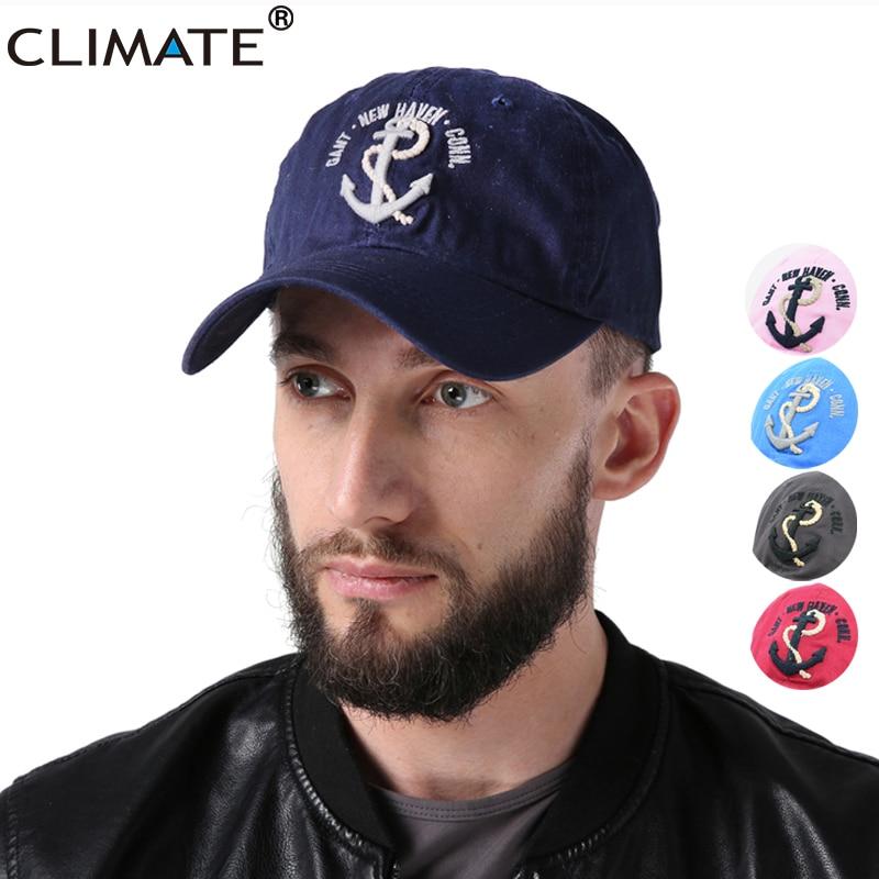 CLIMATE Men Women Hooks   Baseball     Caps   Men Sea Force   Cap   3D Great Sailing Ships Era Voyage Boat Anchor Cotton Adjustbale Hat