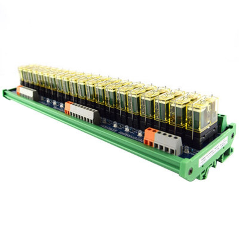 цена на Relay single-group module 20-way compatible NPN/PNP signal output PLC driver board control board