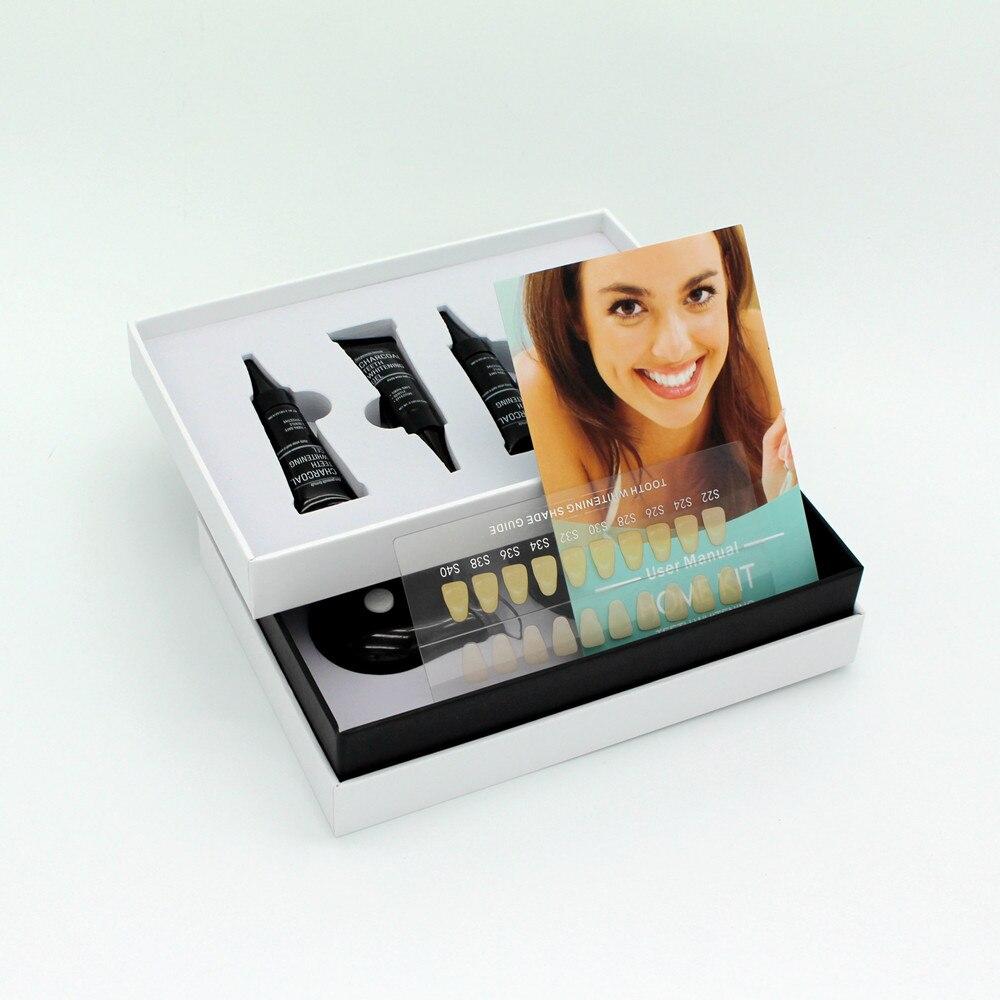 где купить Teeth Whitening Europe No Peroxide Charcoal Gel tooth whitener Dental Equipment Dental Bleaching System Oral Gel Kit Dropship по лучшей цене