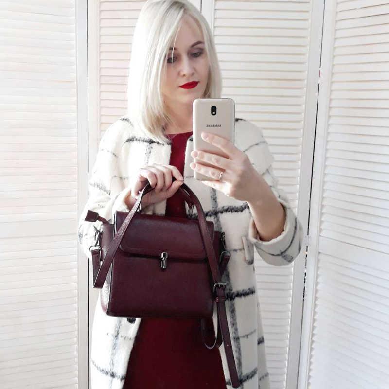 REALER модная сумка женская через плечо, маленькая сумочка для женщин, Известный модный бренд сумка с короткими ручками