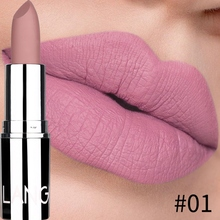 Non-stick Cup Natural Matte Lipstick Long Lasting Make-up Moisturizing Solid Lip Balm Maquiagem