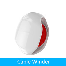 Enrollador de Cable automático para auriculares, organizador de cables inteligente para auriculares, Cable USB