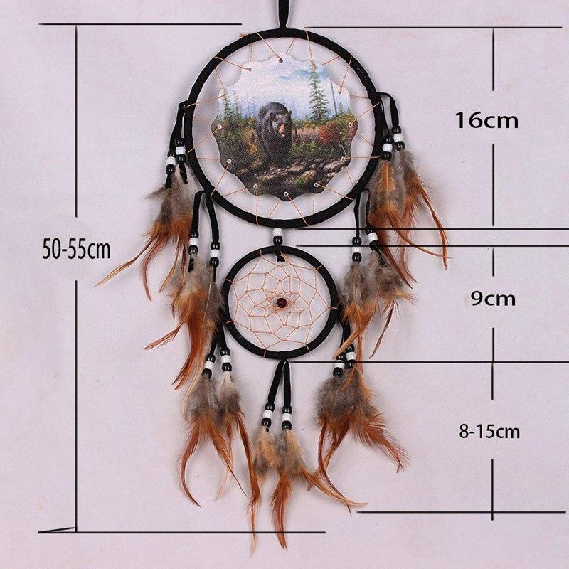 40 New Animal Design Handmade Shell Dream Catcher With Feathers Interesting Animal Dream Catchers